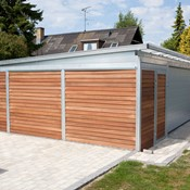 carport med garageport