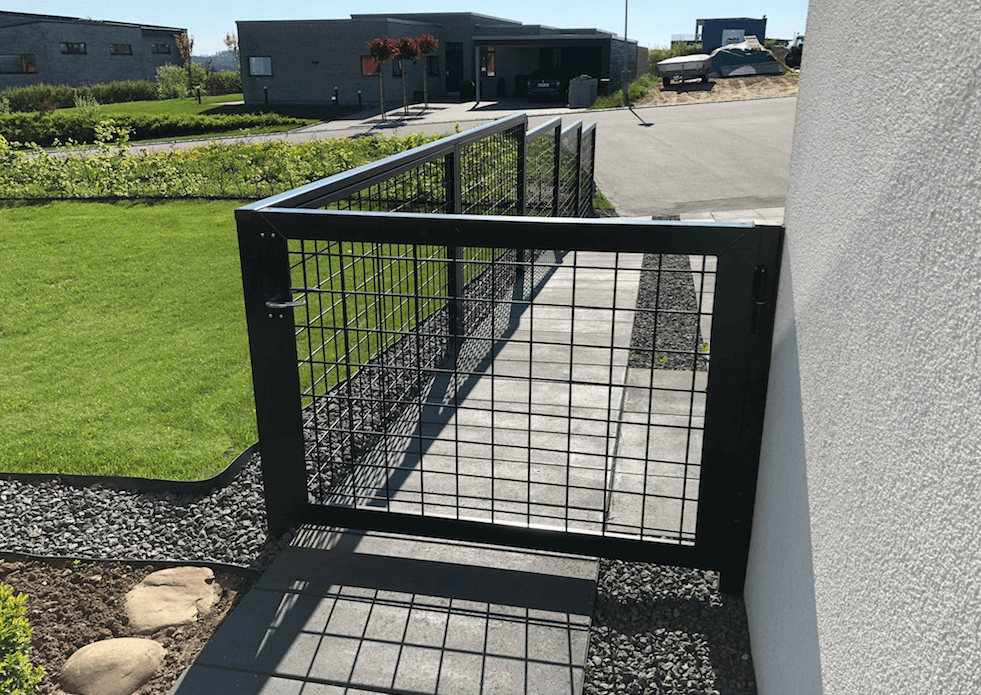 Galvaniseret Hegn Til Terrasse