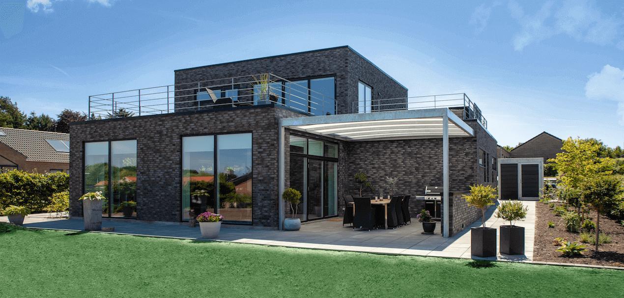 Afholte Overdækket terrasse i stål med 15 års garanti YX-15